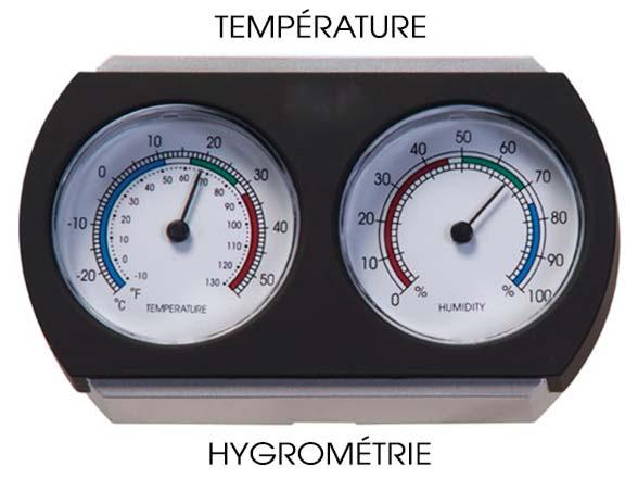 Hygromètre pour piano