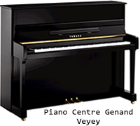 Piano Yamaha Série P Modéle 116, Piano Stephan Genand, Vevey, Montreux