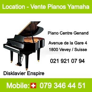 Piano Yamaha - Disklavier Enspire