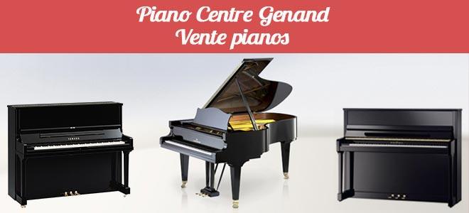 Vente pianos - Magasin d'accessoires et d'instruments de musique Piano Genand