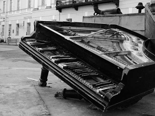Accident lors du déménagement d'un piano