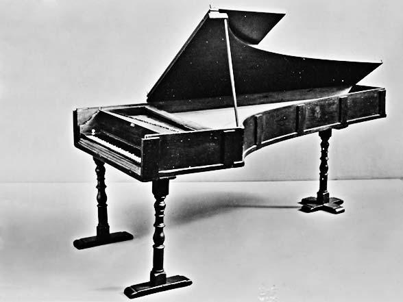 Histoire du piano forte inventé par Bartolomeo Cristofori