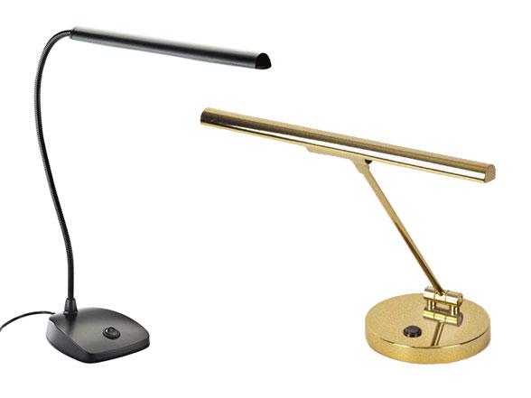 Accessoires pour pianos: Lampes de pianos