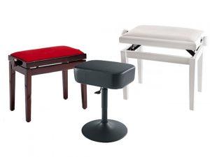 Sièges, banquettes, tabourets pour pianos