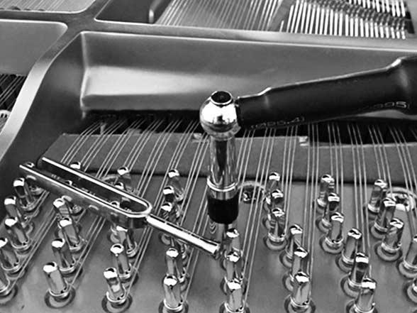 Harmonisation de pianos