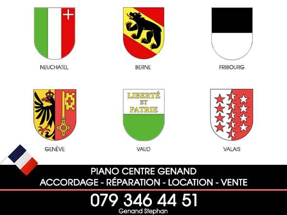 Accordage piano en Suisse Romande, Vaud, Valais, Fribourg, Genève