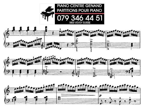 Partitions gratuites - Piano Genand