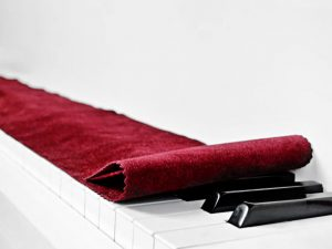 Protection pour clavier de piano